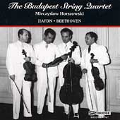 Haydn, Beethoven / Horszowski, Budapest String Quartet