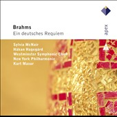Brahms: A German Requiem, Op. 45 / Sylvia McNair; Hakan Hagegard. Kurt Masur