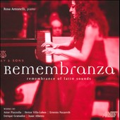 Remembranza  - Piano pieces by Piazzolla, Villa-Lobos; Nazareth, Granados, Albeniz / Rosa Antonelli, piano