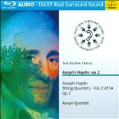 Joseph Haydn: String Quartets, Vol. 2 - Op. 2 / Auryn Quartet [Blu-ray audio]
