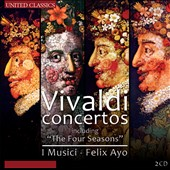 Vivaldi: Concertos, Opp. 8, 9 and 10 (including The Four Seasons) / I Musici, Felix Ayo