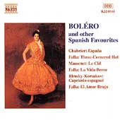 Bol&eacute;ro and other Spanish Favourites