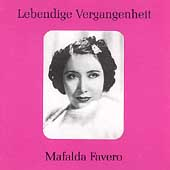 Lebendige Vergangenheit - Mafalda Favero