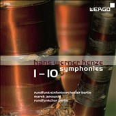 Hans Werner Henze (1926-2012): Symphonies nos 1-10 / Marek Janowski, Berlin Radio SO & Choir