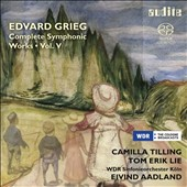 Edvard Grieg: Symphonic Works, Vol. 5 - Peer Gynt, Op. 23; Orchestral Songs (6); Lyric Pieces (2), Op. 68; The Mountain Thrall, Op. 32; Norwegian Dances, Op. 35