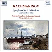 Rachmaninov: Symphony no 1, Caprice / Anissimov, et al
