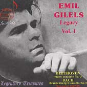 Legendary Treasures - Emil Gilels Legacy Vol 1