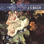 Bach: Sonatas for Violin and Keyboard / Holloway, Moroney