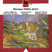 Milhaud, Ibert, Turina: Piano Works / Monique Müller