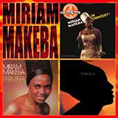 Miriam Makeba: In Concert/Pata Pata/Makeba!