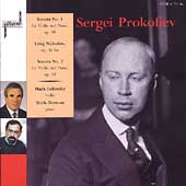 Prokofiev: Violin Sonatas, etc / Mark Lubotsky, Boris Berman