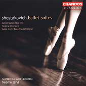Classics - Shostakovich: Ballet Suites / N. Järvi, Scottish