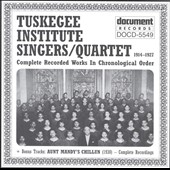 Tuskegee Institute Singers: 1914-1927: In Chronological Order