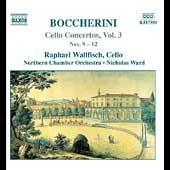 Boccherini: Cello Concertos Vol 3 / Wallfisch, Ward