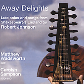 Johnson: Away Delights / Sampson, Wadsworth