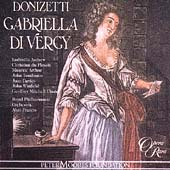 Donizetti: Gabriella di Vergy / Francis, Andrew, et al