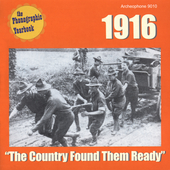 Various Artists: The Phonographic Yearbook: 1916 - The Country Found Them Ready