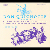 Don Quichotte in Hamburg - Telemann, etc / de Witt, et al