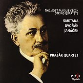 Most Famous Czech String Quartets / Prazák Quartet