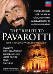 The Tribute To Pavarotti / Bocelli, Sting, Domingo, Gheorghiu, Carreras [Blu-Ray]