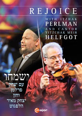 Rejoice' - a Celebration of Eastern European Jewish Music with Itzhak Perlman & Cantor Y. M. Helfgot / Perlman, Helfgot; Klezmer Conservatory Band; Rejoice CO; Ger [DVD]