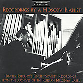 Recordings by a Moscow Pianist / Dmitry Paperno
