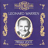 Prima Voce - Leonard Warren