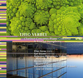 Verbey: Clarinet Concerto, etc / Van Zweden, et al