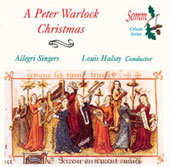 A Peter Warlock Christmas / Halsey, Allegri Singers