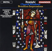 Respighi: Church Windows; Brazilian Impressions / Geoffrey Simon, Philharmonia Orch.