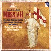 Handel: Messiah / Pinnock, Auger, von Otter, Chance, Crook