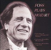 Foss Plays Mozart