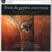 Viola Da Gamba Concertata / Siegfried Pank