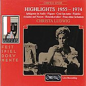 Festspieldokumente - Highlights 1955-1974 / Christa Ludwig