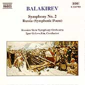 Balakirev: Symphony no 2, Russia / Golovschin