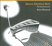 J.S. Bach on Marimba / Notenbüchlein