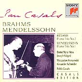 Casals Edition - Brahms, Mendelssohn: Piano Trios / Hess