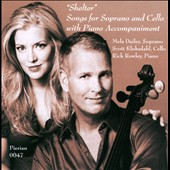 Shelter: Songs for Soprano & Cello with Piano Accompaniment / Mela Dailey, soprano; Scott Kluksdahl, cello; Rick Rowley, piano