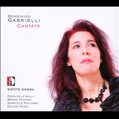 Domenico Gabrielli: Cantatas Galli, Testori, Palomba, Pozzi