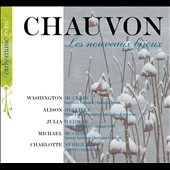 Francois Chauvon: Les Nouveaux Bijoux - suites for flute, oboe, violin and b.c. / McClain, Melvill, Wedman