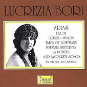 Lucrezia Bori - Arias from Louise, Manon, etc