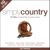 Various Artists: Simply Country [2012] [Box]
