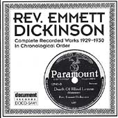 Rev. Emmett Dickinson: Complete Recorded Works in Chronological Order, Vol. 1 (1929-1930)