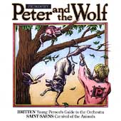 Prokofiev: Peter and the Wolf;  Britten, Saint-Saëns
