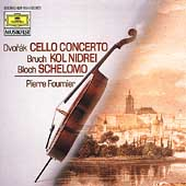 Dvorak: Cello Concerto;  Bruch, Bloch / Pierre Fournier