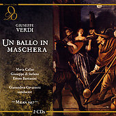Verdi: Un Ballo in Maschera / Gavazzeni, Callas, Di Stefano