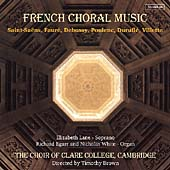 French Choral Music / Brown, Choir of Clare College, et al