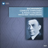 Rachmaninov: Complete Symphonies & Piano Concertos / Mikhail Rudy, piano. St. Petersburg PO, Jansons [5 CDs]