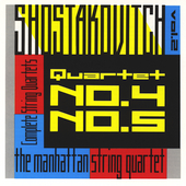 Shostakovich: String Quartets Vol 2 / Manhattan Quartet