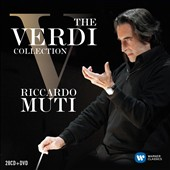 The Verdi Collection - Nabucco; Ernani; Attila; Macbeth; La Traviata; Aida; Don Carlo; and more / Riccardo Muti, Philharmonia Orchestra; Amborsian Opera Chorus; Berlin Philharmonic; and many more [28 CDs]